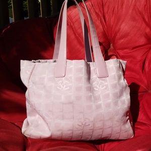 Authentic Chanel travel line bag